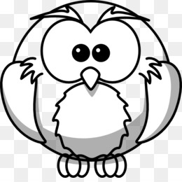 free download snowy owl drawing outline clip art animal outline rh kisspng com Baby Owl Clip Art Outline Owl On Branch Clip Art