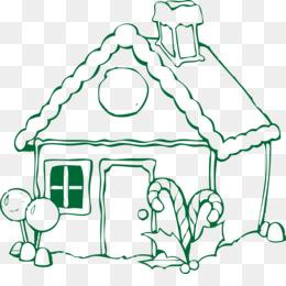 Download Gratis Rumah Roti Jahe Gingerbread Man Mewarnai Buku Lucu