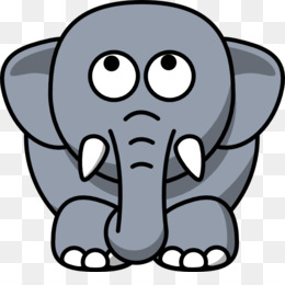 free download elephant in the room grey cuteness clip art animated rh kisspng com