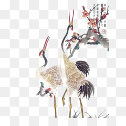 Free Download Red Crowned Crane Tattoo Crane Png