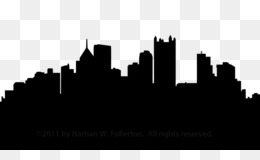 free download pittsburgh skyline silhouette clip art city skyline rh kisspng com city skyline clip art free gotham city skyline clipart
