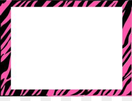 free download zebra animal print pink stripe clip art free zebra rh kisspng com  free leopard print border clip art