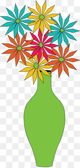 Free Download Vase Flower Clip Art Flowers In A Vase Clipart Png