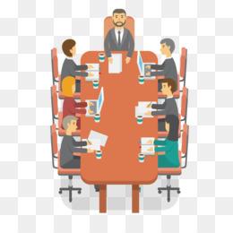 Meeting, Cartoon, Diagram, Human Behavior, Communication PNG image with transparent background