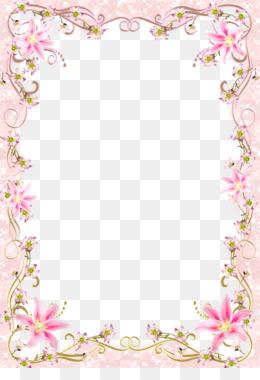 Free Download Download Picture Frame Template Floral Border Frame
