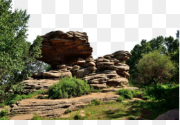 Inner Mongolia, Shilinzhen, Fukei, Boulder, Outcrop PNG image with transparent background
