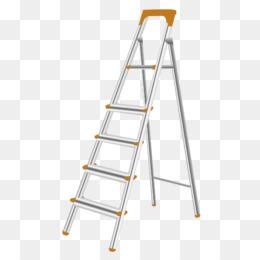 Ladder Escabeau Aluminium Labor Small Wooden Ladder Png Download