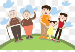 Family Gathering Png Family Gathering Silhouette Cartoon Family
