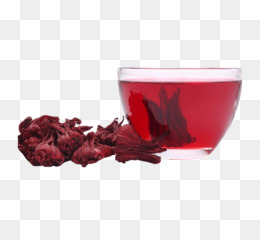 Flowering tea Roselle Hibiscus tea Chrysanthemum tea - Roselle and tea picture material