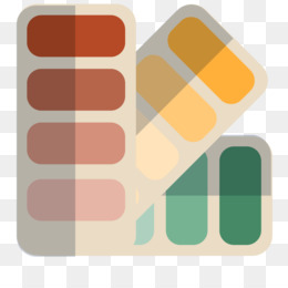 Free download Painting Flat design Oil paint - Three color book png.