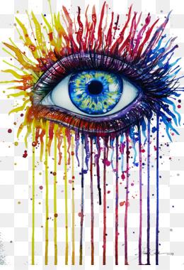Eye Drawing Png Evil Eye Drawing Rainbow Eye Drawing Crying Eye