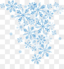 Snowflake, Winter, Christmas, Blue, Symmetry PNG image with transparent background