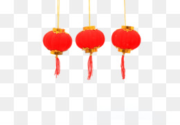 Lantern, Chinese New Year, New Year, Orange, Red PNG image with transparent background