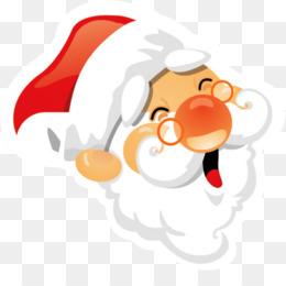 Santa Claus, Nose, Art, Cartoon PNG image with transparent background