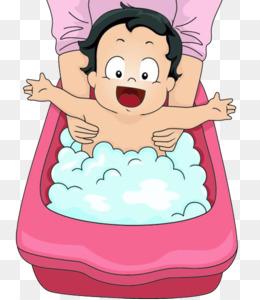 Bañera de Baño Infantil Clip art - Baño de bebé @kisspng