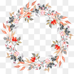 Leaf, Wreath, Flower, Petal PNG image with transparent background