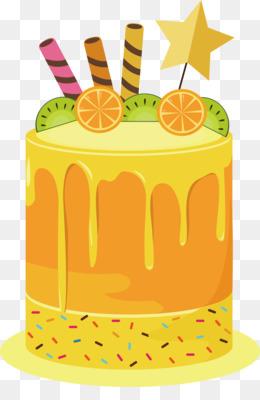 Free Download Fruitcake Shortcake Birthday Cake Torte Orange