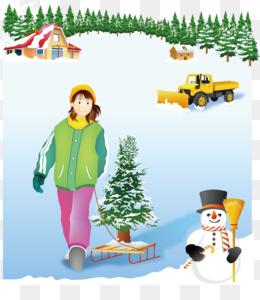 Skiing, Winter, Winter Sport, Human Behavior, Christmas Ornament PNG image with transparent background