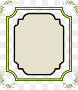Picture Frame, Ornament, Decorative Arts, Square PNG image with transparent background
