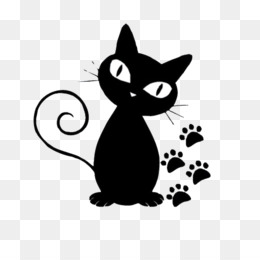 Persian Cat, Norwegian Forest Cat, Kitten, Domestic Short Haired Cat, Silhouette PNG image with transparent background