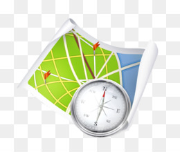 Free download Map coordinates and compass icon image png