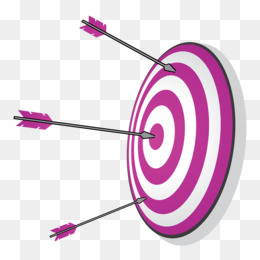 Archery, Shooting Target, Arrow, Purple, Target Archery PNG image with transparent background