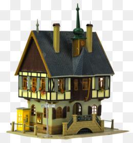House 3D Computer Graphics Building 3D Modeling   3D House Png ...