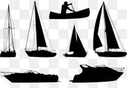 Boat, Silhouette, Ship, Watercraft, Caravel PNG image with transparent background