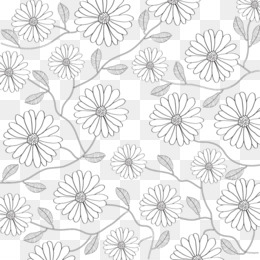 Black and white flower petal pattern black and white lines flowers black and white flower petal pattern black and white lines flowers background png download 10241024 free transparent line art png download mightylinksfo