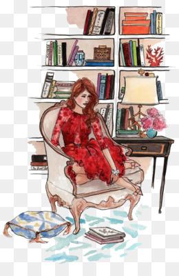 Fashion Sketchbook, Fashion Illustration, Drawing, Art, Sitting PNG image with transparent background