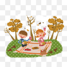 c92629d02d1 Picnic PNG   Picnic Transparent Clipart Free Download - Cartoon Funny  animal Theatrical scenery Illustration - Parrot squirrel and fox.