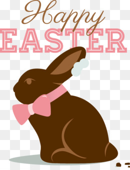 Easter Bunny, Chocolate Bunny, Easter, Rabits And Hares, Food PNG image with transparent background