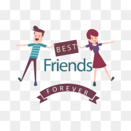 Friends PNG Transparent Clipart Free Download