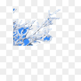 Winter, Download, Snow, Blue, Square PNG image with transparent background