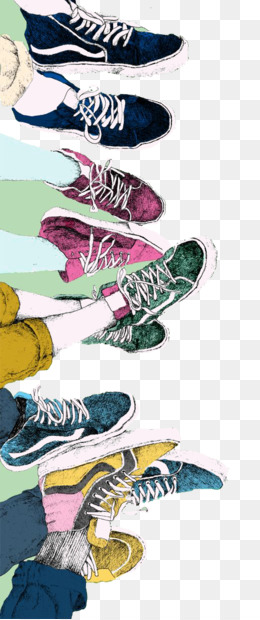 Vans, Sneakers, Drawing, Art, Text PNG image with transparent background