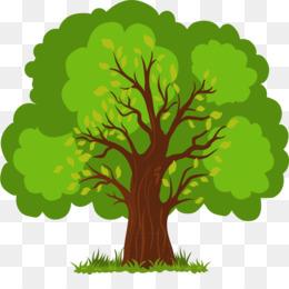 Tree, Cartoon, Encapsulated Postscript, Plant, Leaf PNG image with transparent background