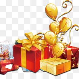 Gift, Box, Balloon, Gift Basket PNG image with transparent background