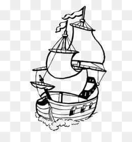 ücretsiz Indirin Boyama Kitabı Yelkenli Gemi Yelkenli Yelkenli
