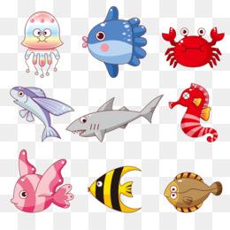 Kartun Ikan Png Gambar Unduh Kartun Ikan Gambar Transparan Png
