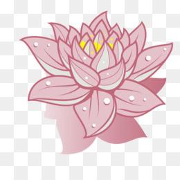 Nelumbo Nucifera Drawing Flower Clip Art   Pink Lotus