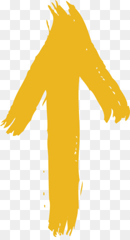 Arrow, Yellow, Reversal Film, Silhouette, Neck PNG image with transparent background