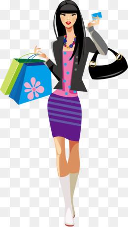 shopping woman free content clip art beautiful models png download rh kisspng com clip art woman shopping pictures clipart ladies shopping