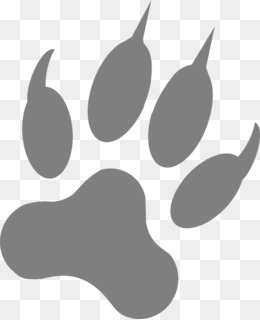 Dog, Paw, Footprint, Silhouette, Water Bird PNG image with transparent background