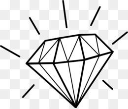 free download diamond white gemstone clip art diamond shape rh kisspng com Diamond Shape Outline diamond shape clipart black and white