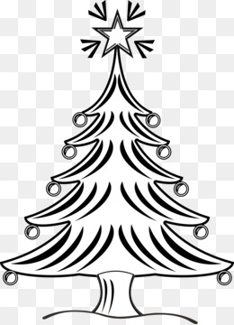 Christmas Tree Line Drawing 512 512 Transprent Png Free Download