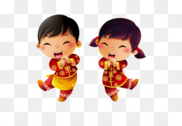 Hong Kong, Chinese New Year, Lion Dance, Boy, Play PNG image with transparent background