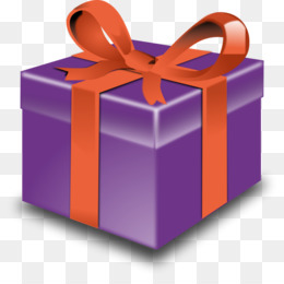 Gift Purple Ribbon Clip art - Christmas Imges