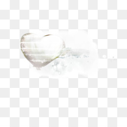 Heart, White PNG image with transparent background