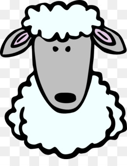 Sheep Mammal Free Content Line Art Head Png Image With Transpa Background