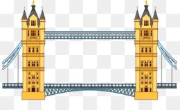 London Bridge Tower Of London Tower Bridge Hand Painted Tower